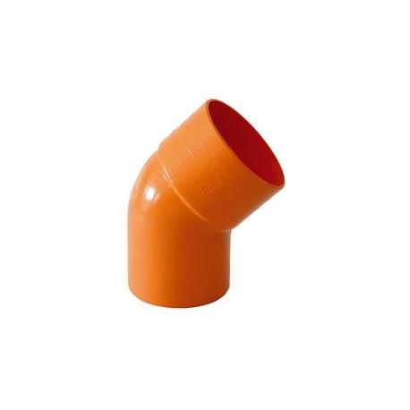 CURVA PVC EXTRA 45° D.200