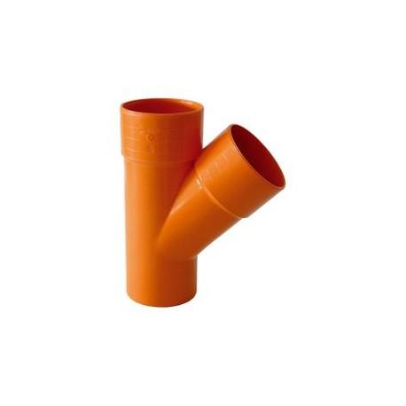 BRAGA PVC EXTRA 45° D. 82