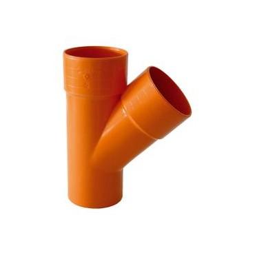BRAGA PVC EXTRA 45° D.125