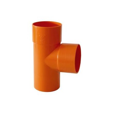 BRAGA PVC EXTRA 87,30° D.125