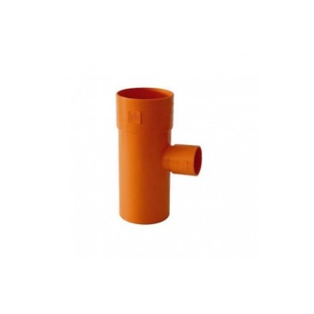 BRAGA PVC EXTRA RIDOTTA 87,30° D.100X63