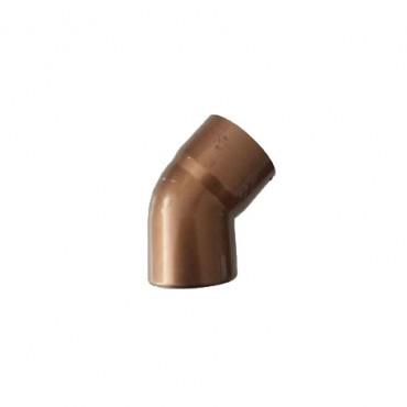 FIRST PLAST CURVA PVC RAMATO A 45° D. 80