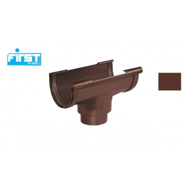 FIRST PLAST GIUNTO C/SCARICO PVC RAMATO 80-100