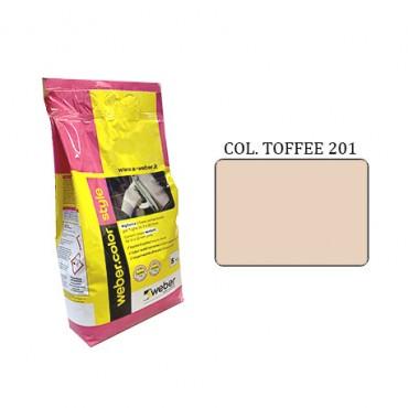 WEBER COLOR STYLE 201 TOFFEE DA KG.05