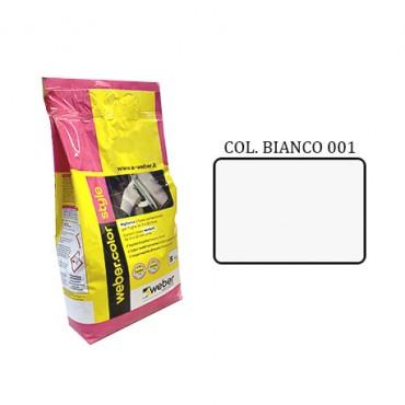 WEBER COLOR STYLE 001 BIANCO DA KG.05