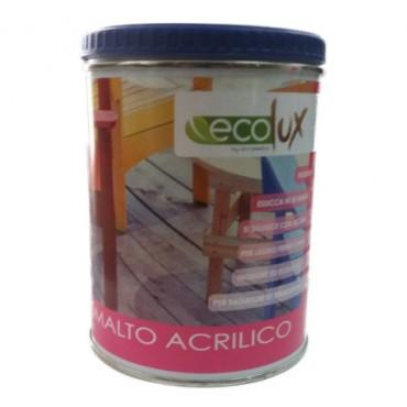 EKOLOR ECOLUX SATINATO BIANCO ML.750