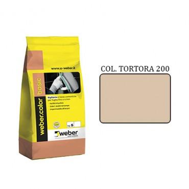 WEBER COLOR BASIC 200 TORTORA DA KG.05