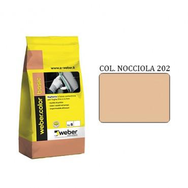WEBER COLOR BASIC 202 NOCCIOLA DA KG.05