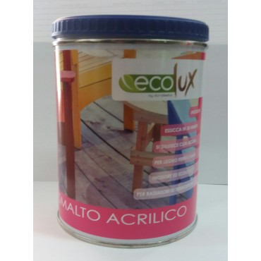 EKOLOR ECOLUX SATINATO NEUTRO ML.750