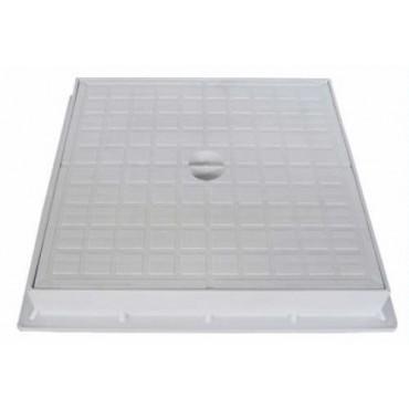 CHIUSINO PVC D.45X45 C/TELAIO