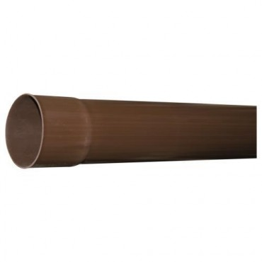 FIRST PLAST PLUVIALE PVC RAMATO D.100 MT.02