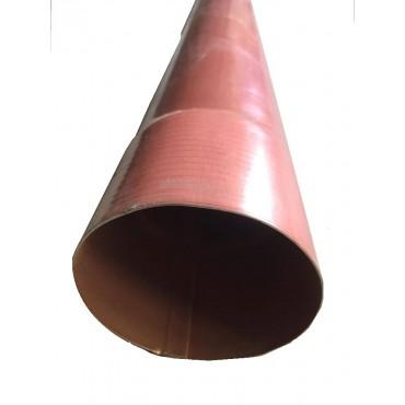 Alluminio Ramato Pluviale D. 80 Ml.04