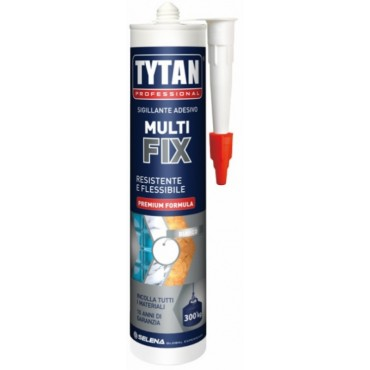TYTAN PROFESSIONAL ADESIVO MULTI FIX 300ML BIANCO