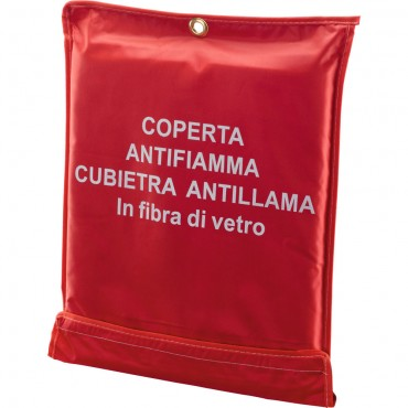 COPERTA ANTIFIAM. IN FIBRA DI VETRO 120X150 120200