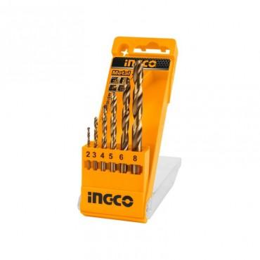 INC-CO SET 6 PUNTE TRAPANO METALLO IN BOX