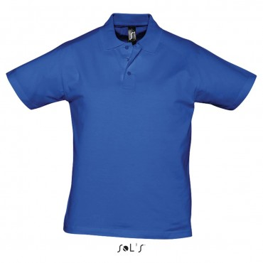 POLO BLUE ROYAL TAGLIA M 100% COTONE