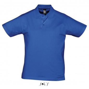 POLO BLUE ROYAL TAGLIA XXL 100% COTONE